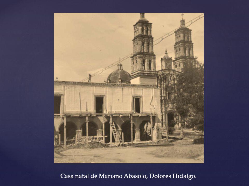 Casa natal de Mariano Abasolo, Dolores Hidalgo.