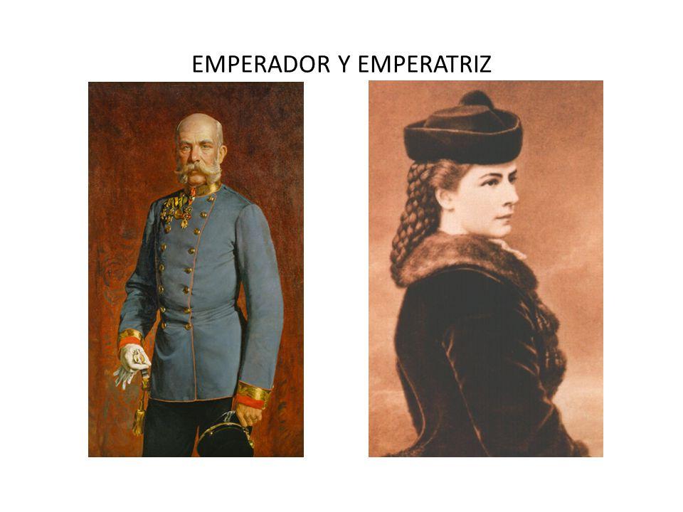 EMPERADOR Y EMPERATRIZ