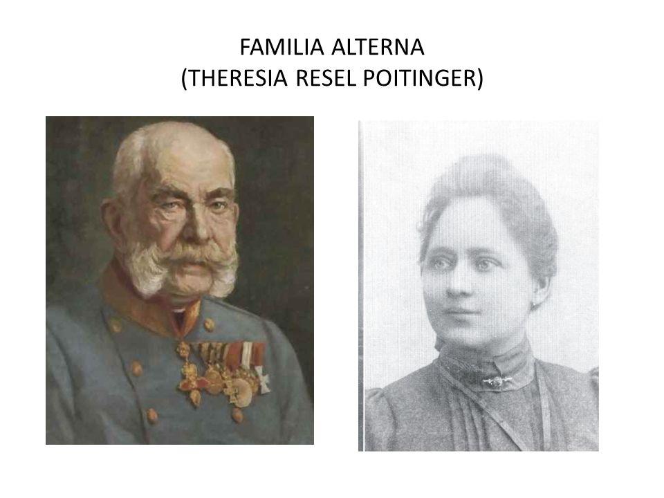 FAMILIA ALTERNA (THERESIA RESEL POITINGER)