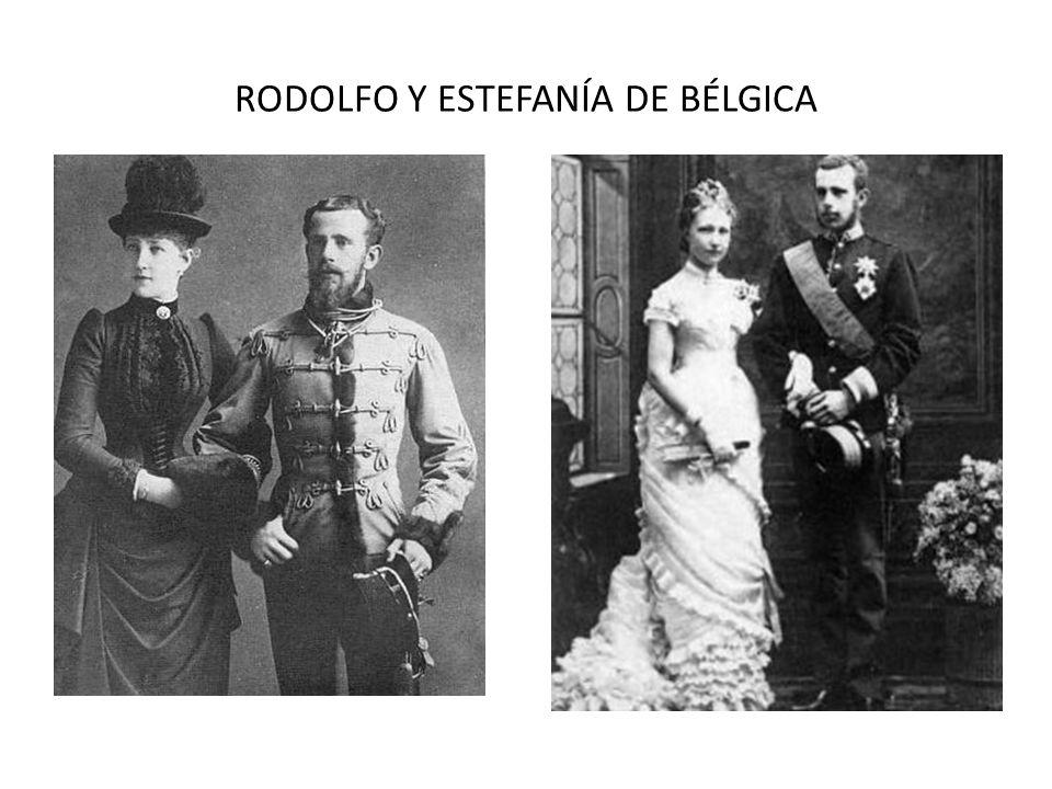 RODOLFO Y ESTEFANÍA DE BÉLGICA