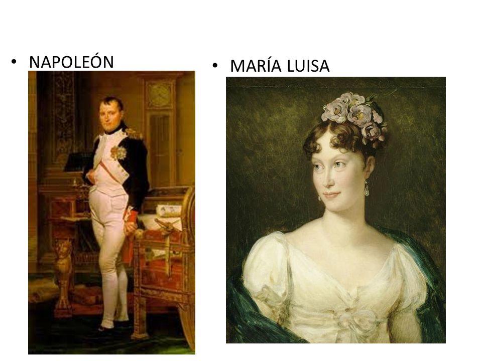 NAPOLEÓN MARÍA LUISA