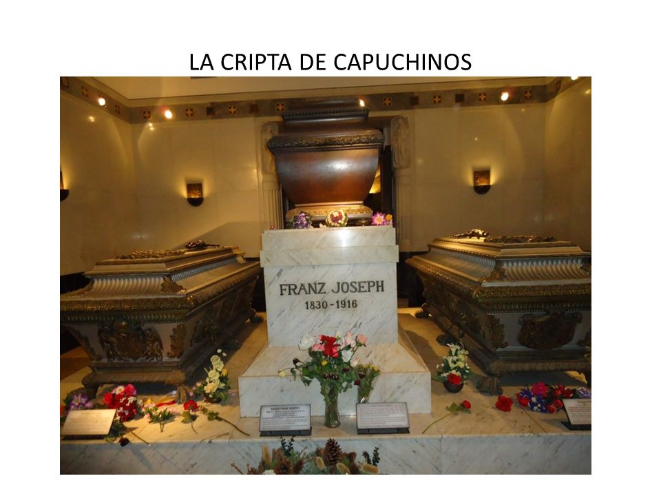 LA CRIPTA DE CAPUCHINOS