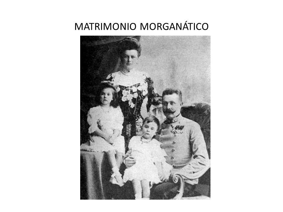 MATRIMONIO MORGANÁTICO