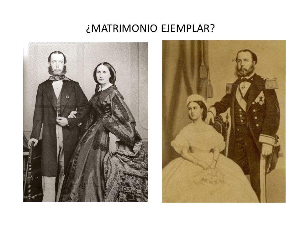 ¿MATRIMONIO EJEMPLAR?