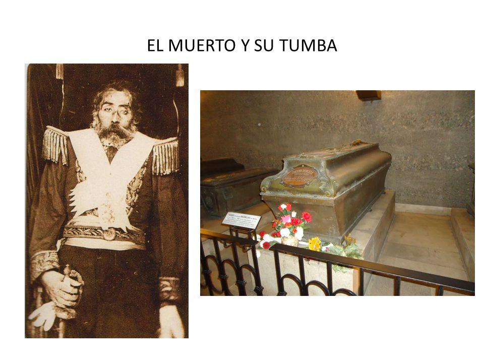 EL MUERTO Y SU TUMBA