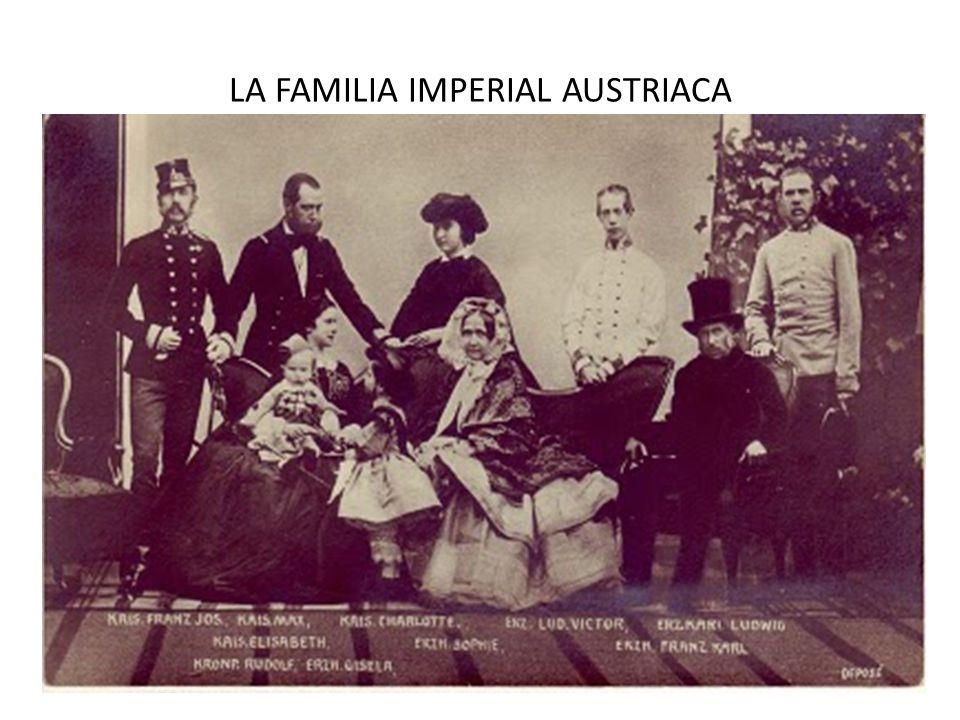 LA FAMILIA IMPERIAL AUSTRIACA