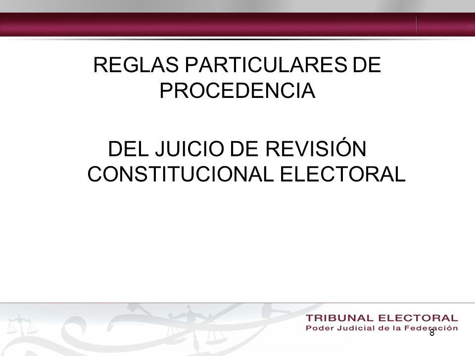 29 Legitimación Por regla general sólo podrá ser promovido por los partidos políticos a través de sus representantes legítimos.