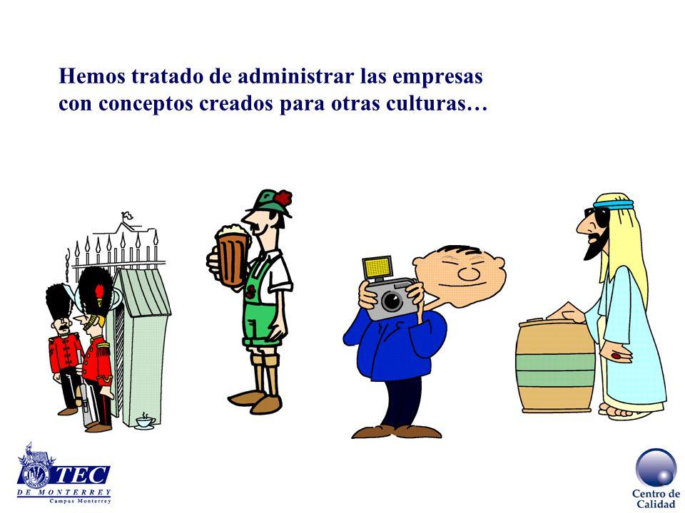 La pregunta eterna…… Dadas nuestras carácterísticas culturales ¿podemos desarrollar una cultura de valores de calidad para ser competitivos?