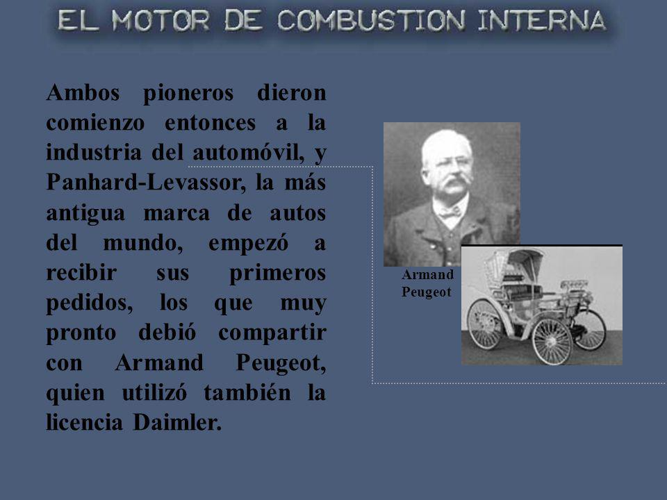 Ambos pioneros dieron comienzo entonces a la industria del automóvil, y Panhard-Levassor, la más antigua marca de autos del mundo, empezó a recibir su