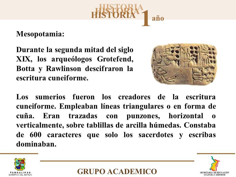 HISTORIA 1 año GRUPO ACADEMICO T A M A U L I P A S GOBIERNO DEL ESTADO SECRETARIA DE EDUCACIÓN CULTURA Y DEPORTE Durante la segunda mitad del siglo XI