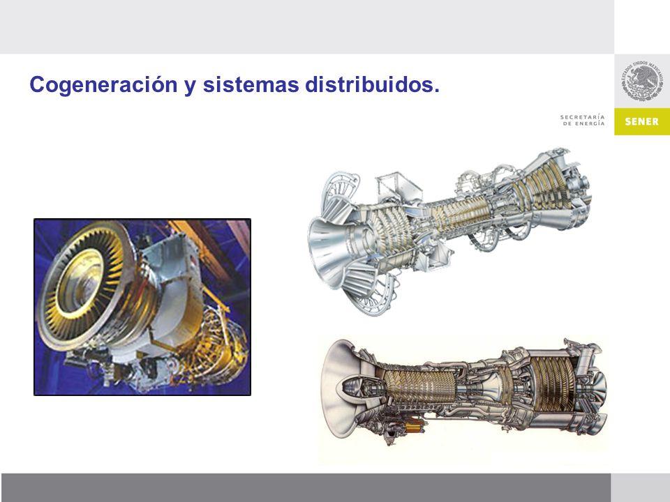 Cogeneración y sistemas distribuidos.