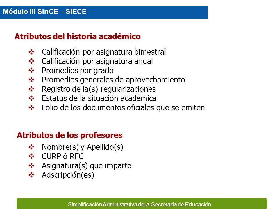Simplificación Administrativa de la Secretaría de Educación Clave de CCT Nombre de la Escuela Tipo Educativo Nivel Educativo Modalidad Educativa Subsi