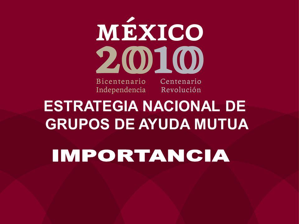 ESTRATEGIA NACIONAL DE GRUPOS DE AYUDA MUTUA