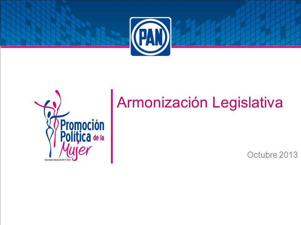 Armonización Legislativa Octubre 2013