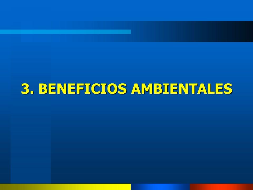 3. BENEFICIOS AMBIENTALES