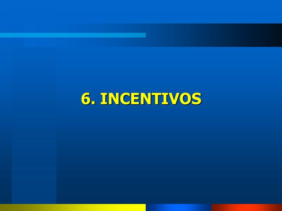 6. INCENTIVOS