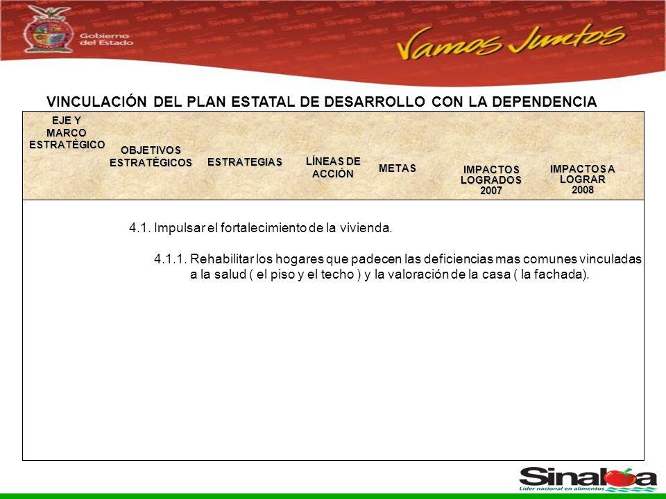 Sistema Integral de Planeación, Programación y Presupuestación del Gasto Público Proceso para el Ejercicio Fiscal del año 2005 4.1.