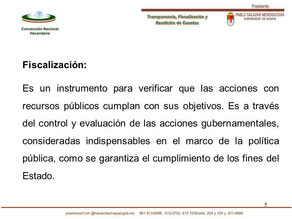 36 Crear un organismo nacional con autonomía técnica, presupuestal y de gestión constitucionales y ciudadanizado, que se encargue de la fiscalización externa de la asignación y el ejercicio de los recursos públicos.