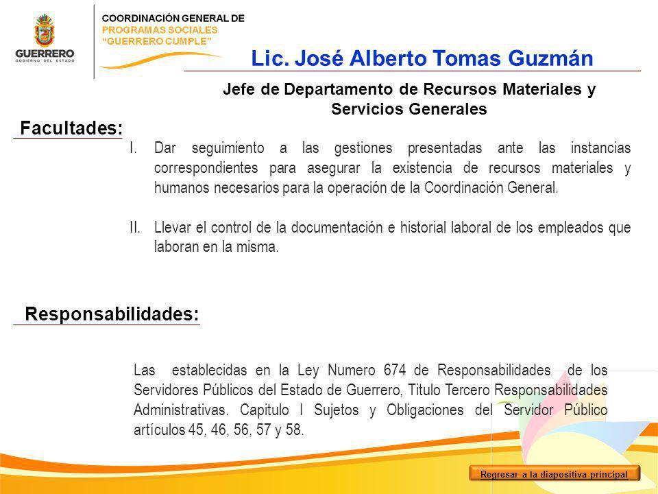 I.Dar seguimiento a las gestiones presentadas ante las instancias correspondientes para asegurar la existencia de recursos materiales y humanos necesa