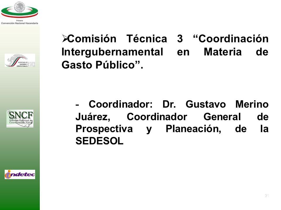20 Comisión Técnica 2 Colaboración Administrativa en Materia Fiscal Federal. - Coordinador: Lic. Carlos R. Hernández Blanco, Presidente Municipal de C