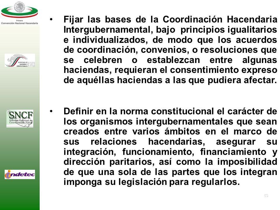 62 Reestablecer el sentido de la norma Constitucional contenida en el artículo 124, en la cual se establece el sistema residual de competencias y facu