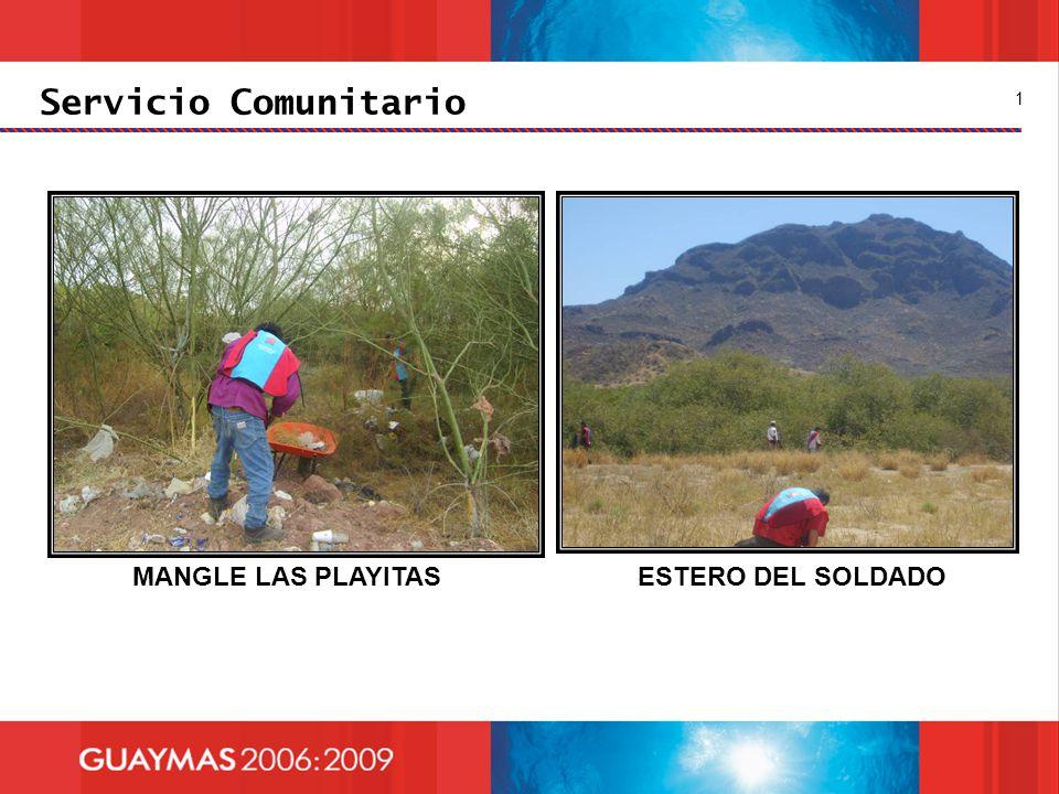 Servicio Comunitario MANGLE LAS PLAYITASESTERO DEL SOLDADO 1