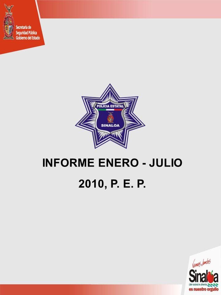 INFORME ENERO - JULIO 2010, P. E. P.
