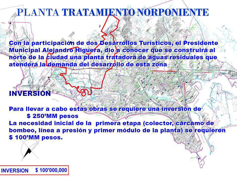 Con la participación de dos Desarrollos Turísticos, el Presidente Municipal Alejandro Higuera, dio a conocer que se construirá al norte de la ciudad u