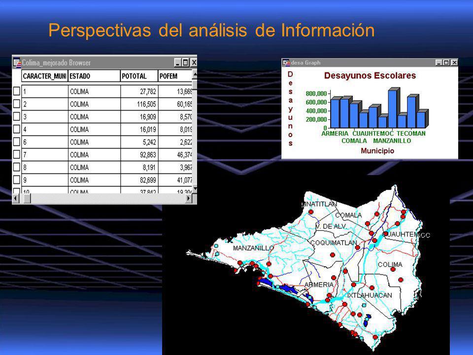 Perspectivas del análisis de Información