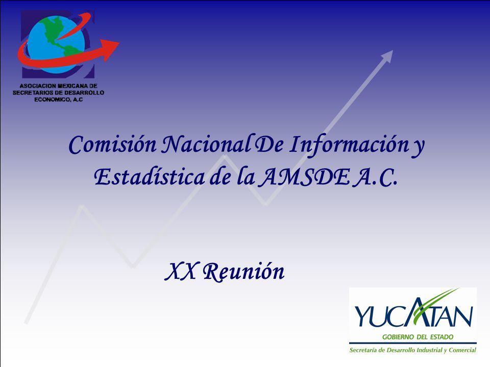 Comisión Nacional De Información y Estadística de la AMSDE A.C. XX Reunión