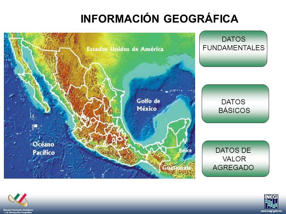 Un sistema estructurado con los datos geográficos fundamentales, básicos y de valor agregado, de las unidades generadoras.