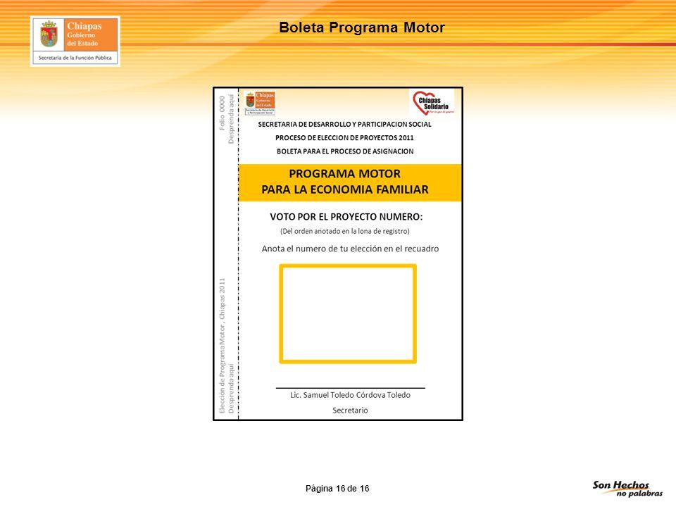 Boleta Programa Motor Página 16 de 16