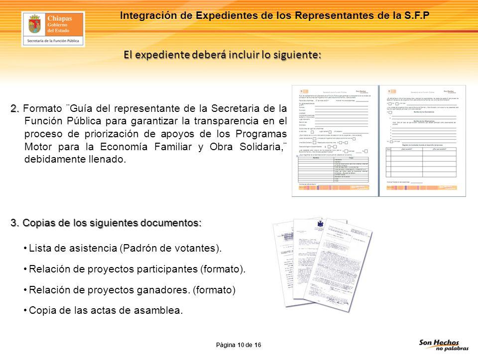 Lona Impresa Obra Solidaria Formato en el que serán publicados los proyectos en la sesión de la asamblea.