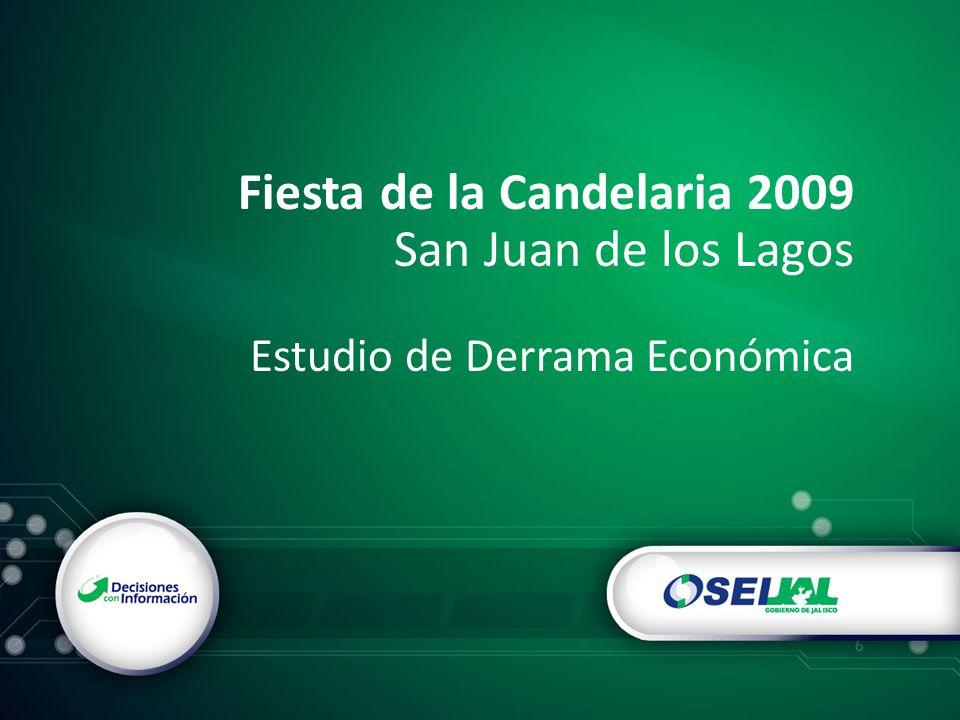 Fiesta de la Candelaria 2009 San Juan de los Lagos Estudio de Derrama Económica