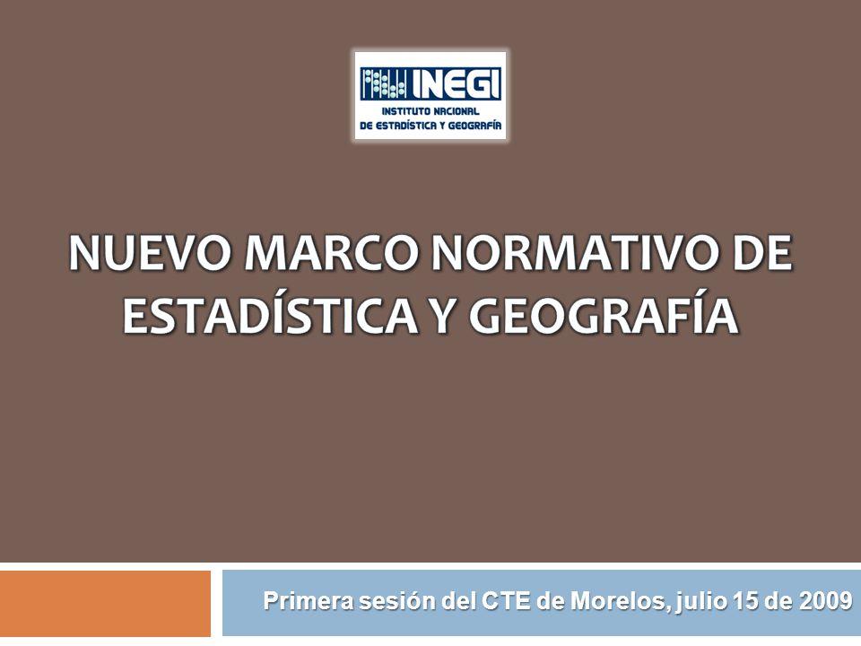 Primera sesión del CTE de Morelos, julio 15 de 2009
