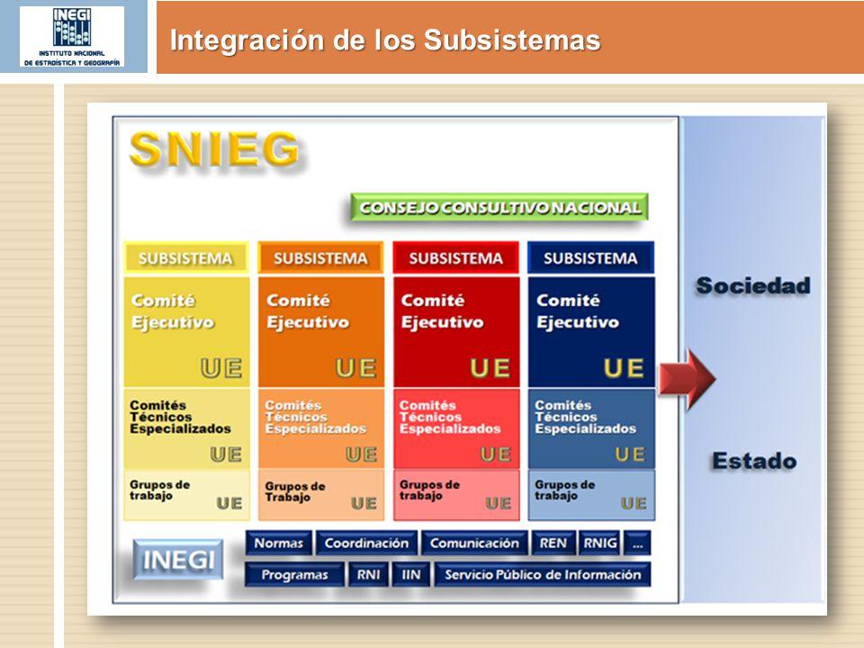 Página en internet http://www.snieg.org.mx