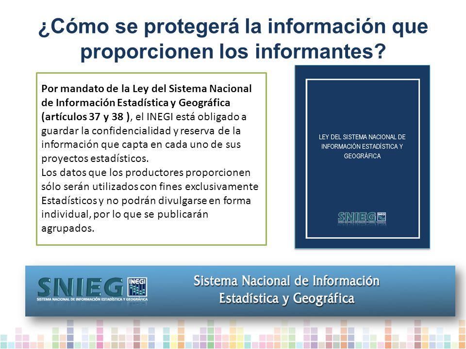 ¿Cómo se protegerá la información que proporcionen los informantes.