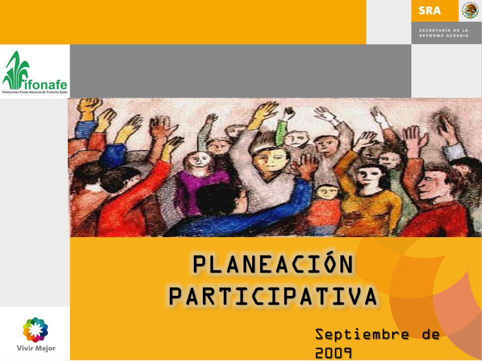 La participación en la planeación es básica para el trabajo en equipo.