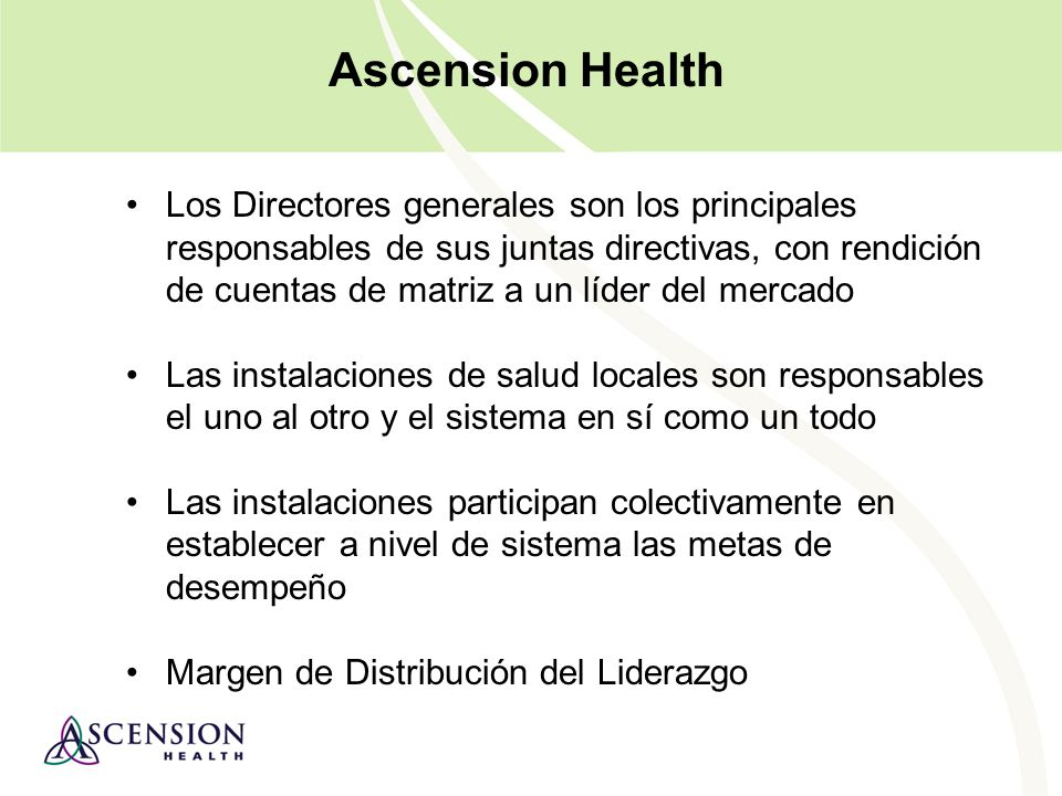Ascension Health: Why are we capable of bold, hairy, audacious goals