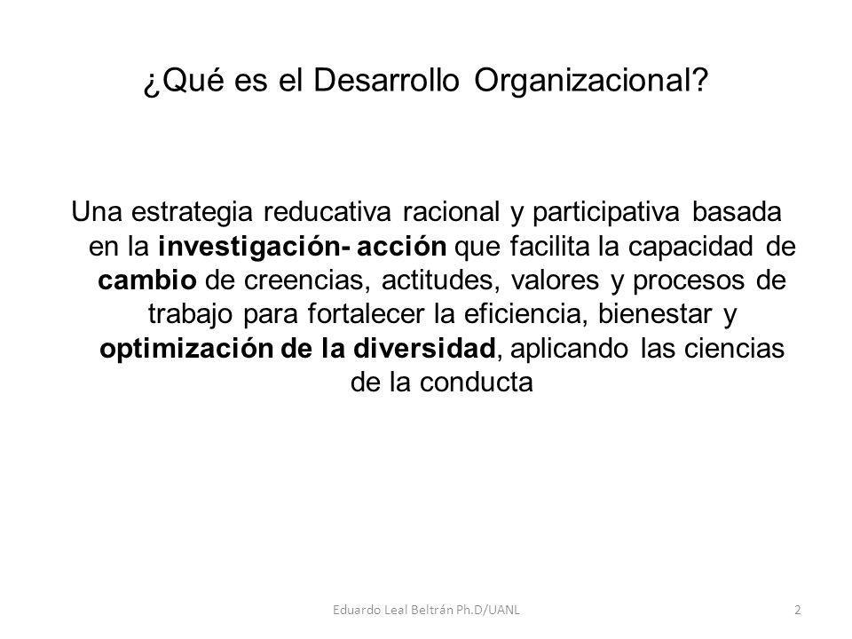 ¿Qué es el Desarrollo Organizacional.