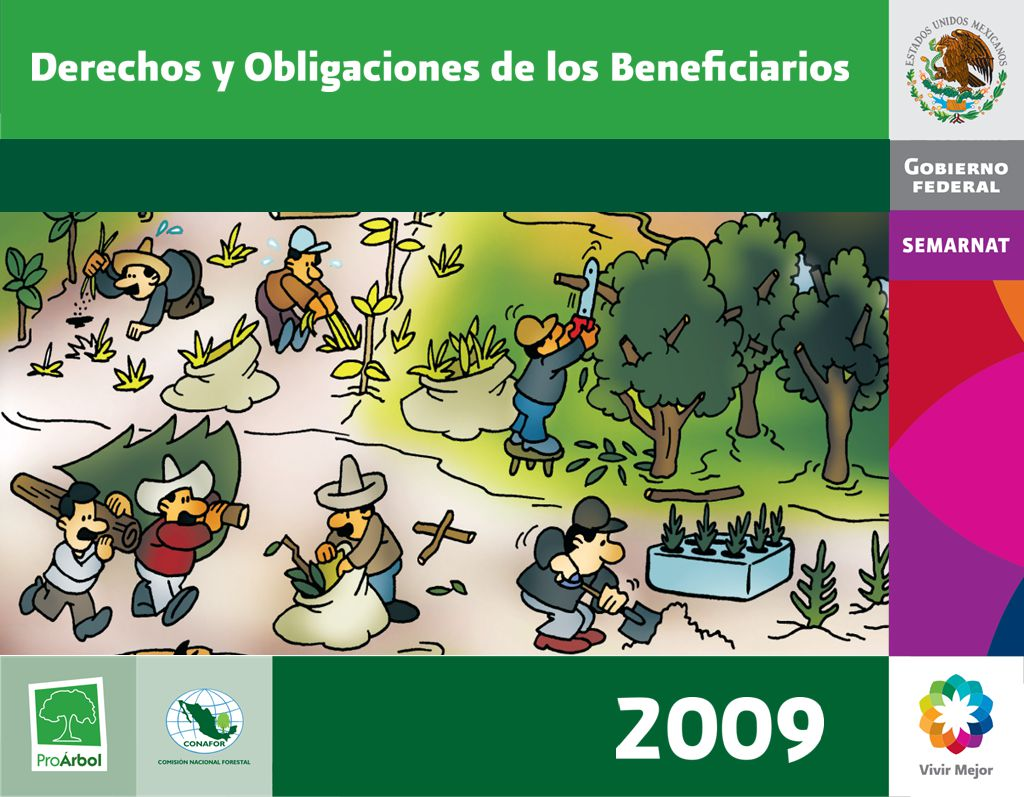 Objetivos de ProÁrbol 1.Disminuir la pobreza y marginación en áreas forestales 2.