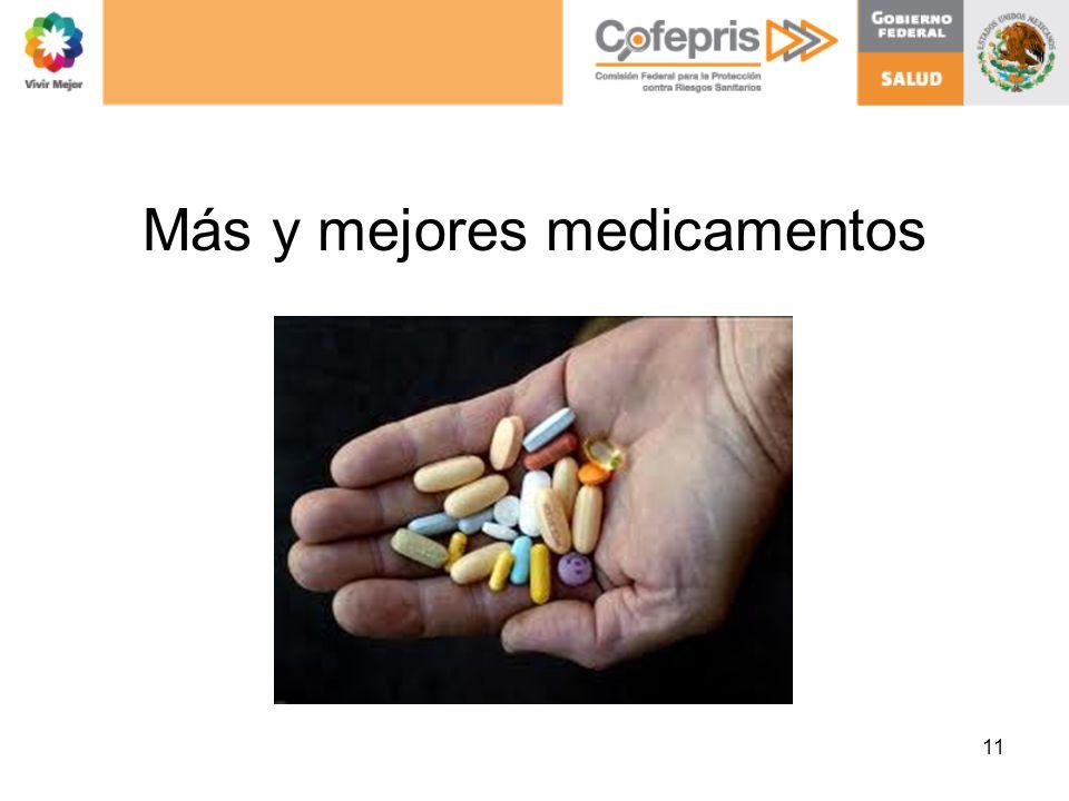 Más y mejores medicamentos 11