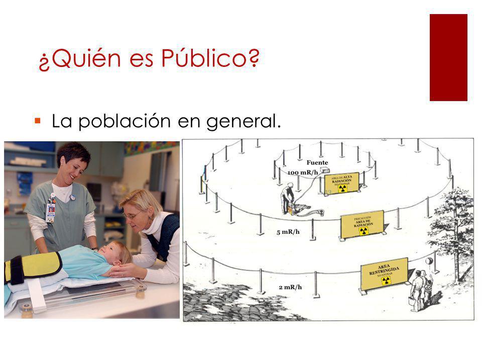 La población en general. ¿Quién es Público?