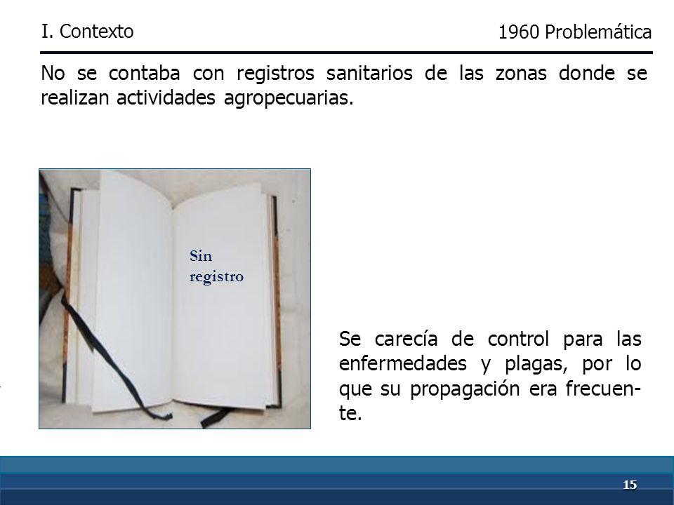 1414 En materia de salud animal, se establecieron controles y campañas contra enfermedades de importancia económica. 1950-1960 Campañas sanitarias par