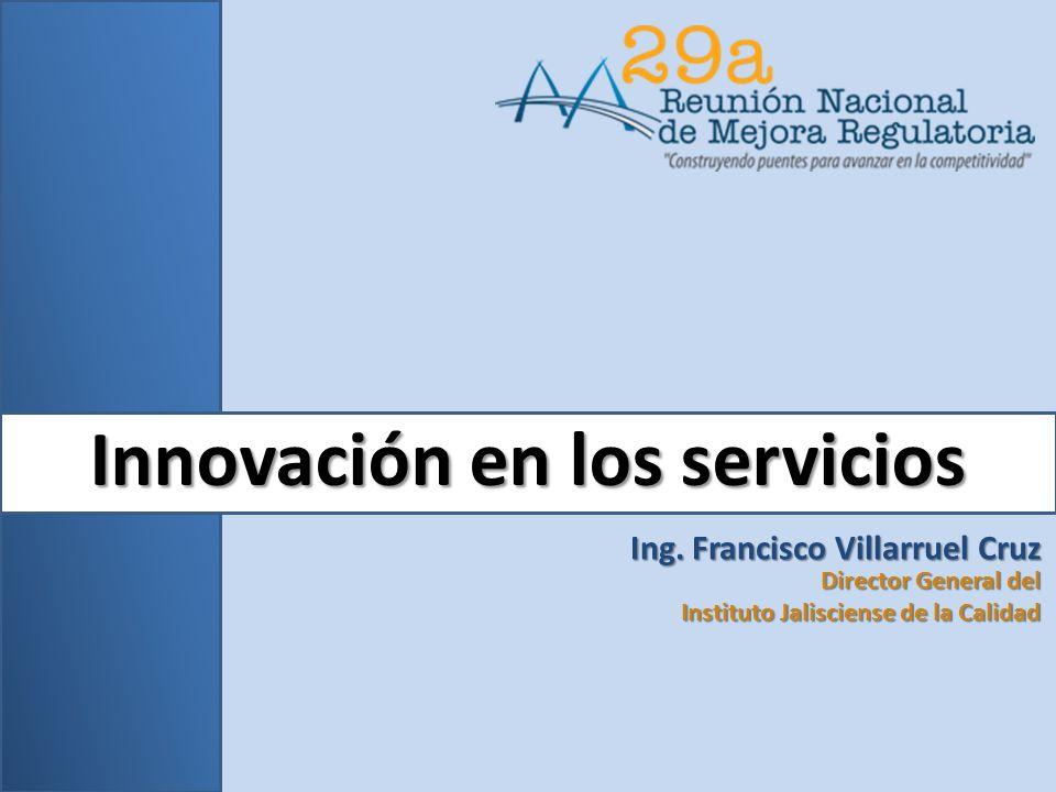 Innovación en los servicios Ing.