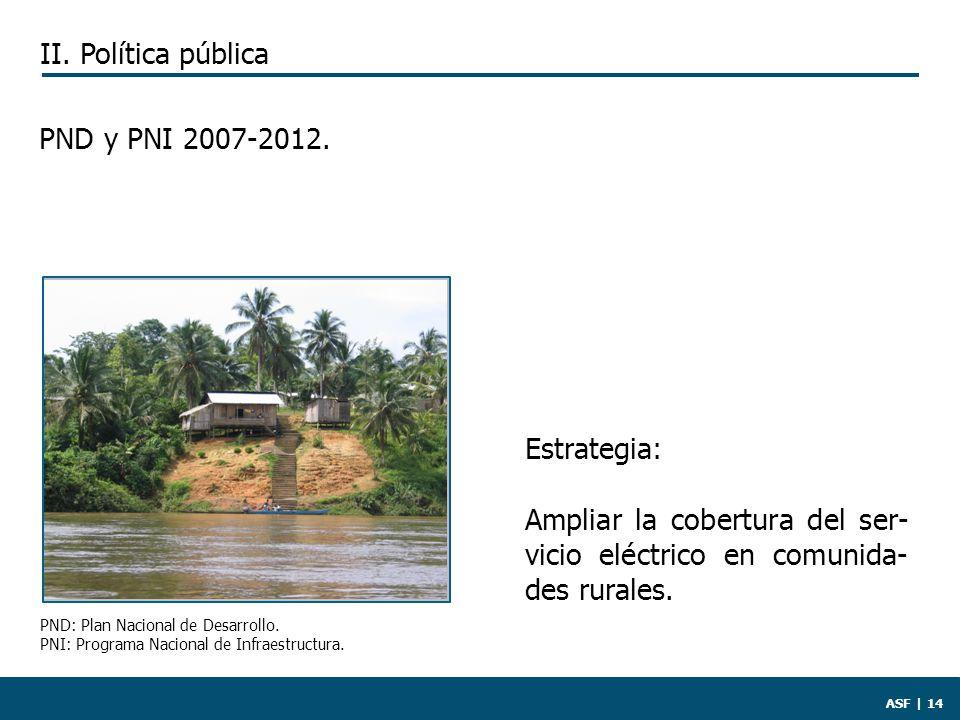 ASF | 14 PND y PNI 2007-2012.