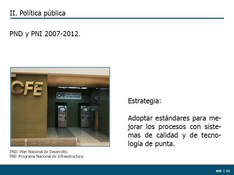 ASF | 15 PND y PNI 2007-2012.