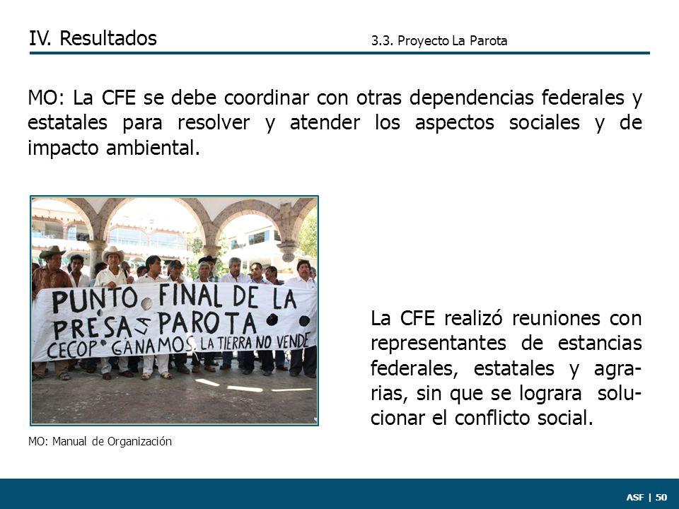 ASF | 50 La CFE realizó reuniones con representantes de estancias federales, estatales y agra- rias, sin que se lograra solu- cionar el conflicto social.