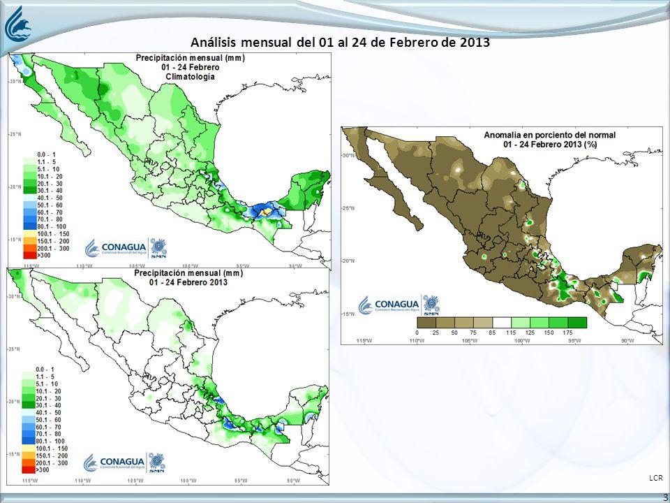 3 Análisis mensual del 01 al 24 de Febrero de 2013 LCR
