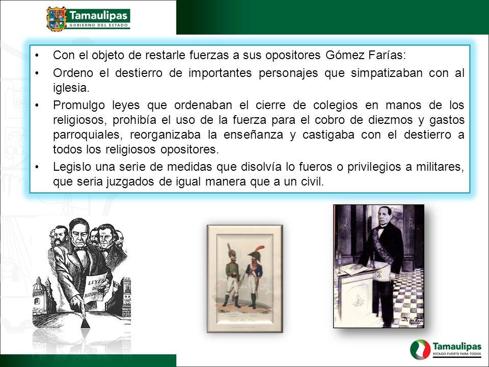 El gobierno de Anastasio Bustamante restableció el orden interno del País, regenero las condiciones económicas y la administración publica.